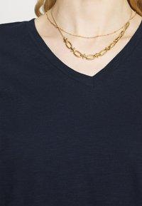 Marks & Spencer London - Basic T-shirt - dark blue - 3