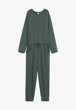 NIZA - Jumpsuit - verde medio
