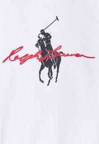 Polo Ralph Lauren - GRAPHIC - Collegepaita - white - 7