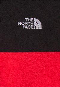 The North Face - GLACIER SNAP NECK - Fleece jumper - horizon red/black - 6