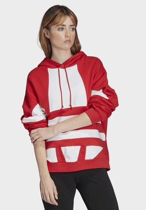 LARGE LOGO HOODIE - Jersey con capucha - red