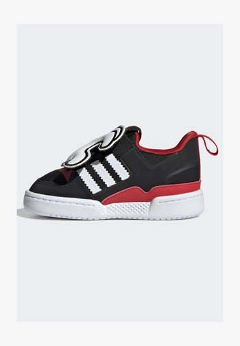 FORUM 360 I ORIGINALS CONCEPT SNEAKERS SHOES - Sneakers basse - core black/ftwr white/vivid red