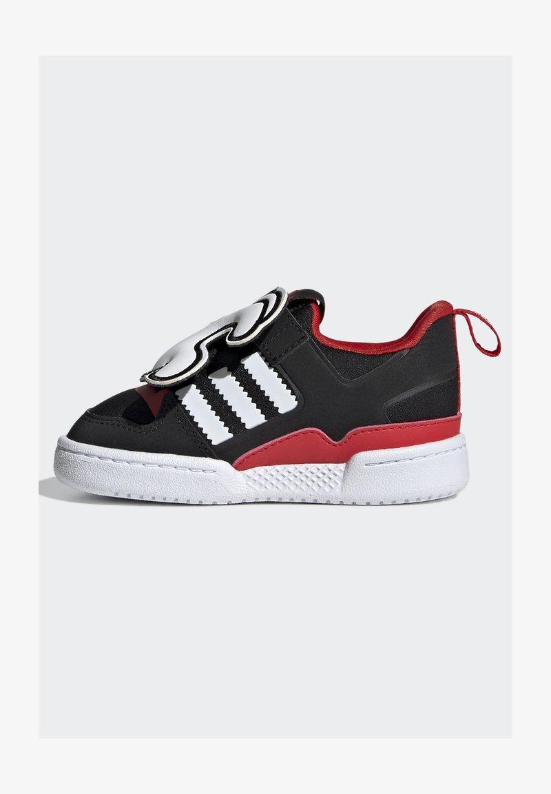 adidas Originals - FORUM 360 I ORIGINALS CONCEPT SNEAKERS SHOES - Sneaker low - core black/ftwr white/vivid red