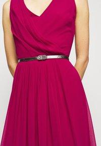 Lauren Ralph Lauren - GRACEFUL LONG GOWN - Vestido de fiesta - modern dahlia - 4