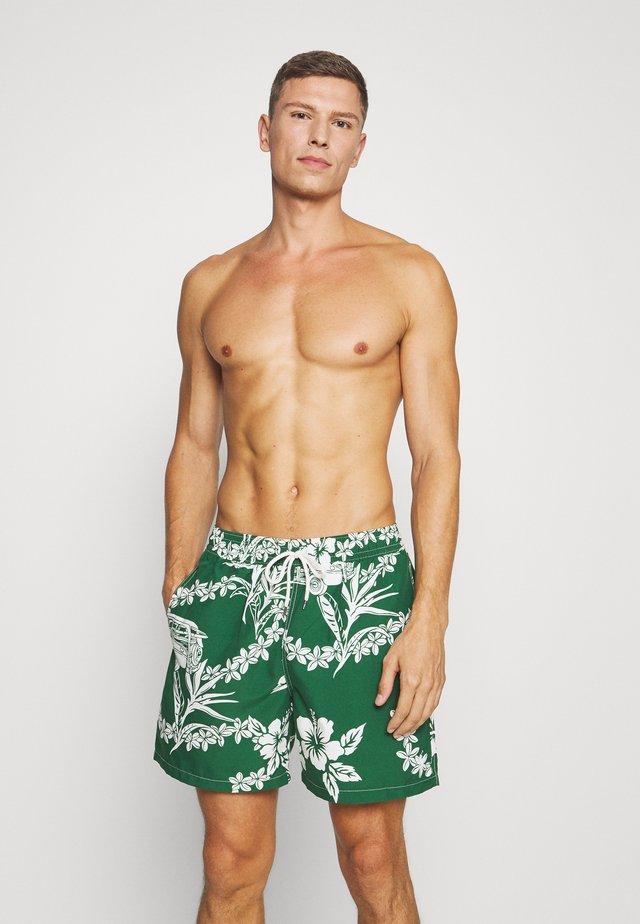 TRAVELER SHORT - Swimming shorts - hawaiian woodie