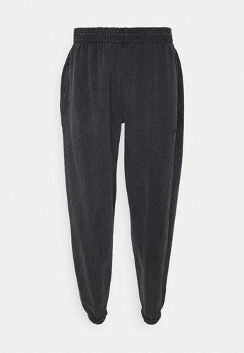 PANT WASHED - Träningsbyxor - black
