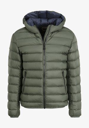 KAPUZE - Down jacket - khaki