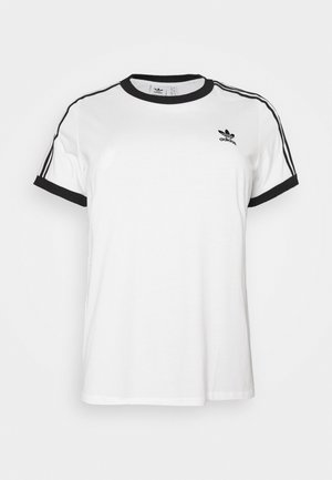 TEE - Print T-shirt - white/black