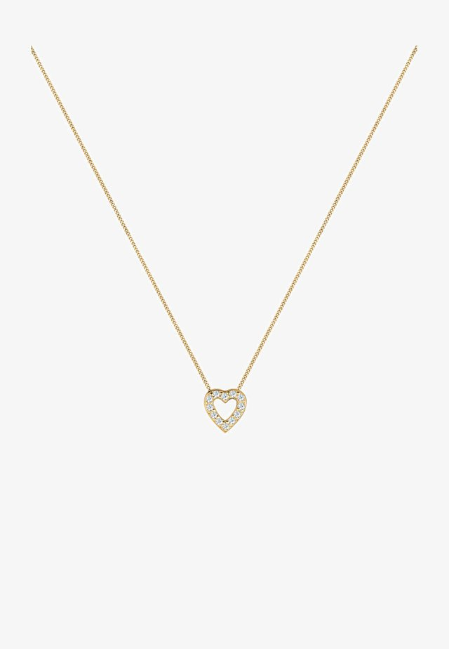HERZ - Ketting - gold-coloured