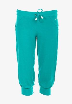 3/4 sports trousers - ocean green