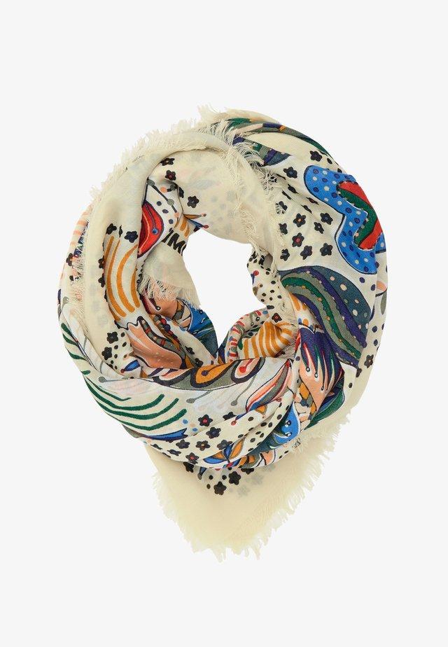 BIRDS  - Foulard - ivory