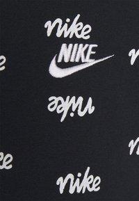 Nike Sportswear - CLUB HOODIE SCRIPT - Sweat à capuche - black/white - 5