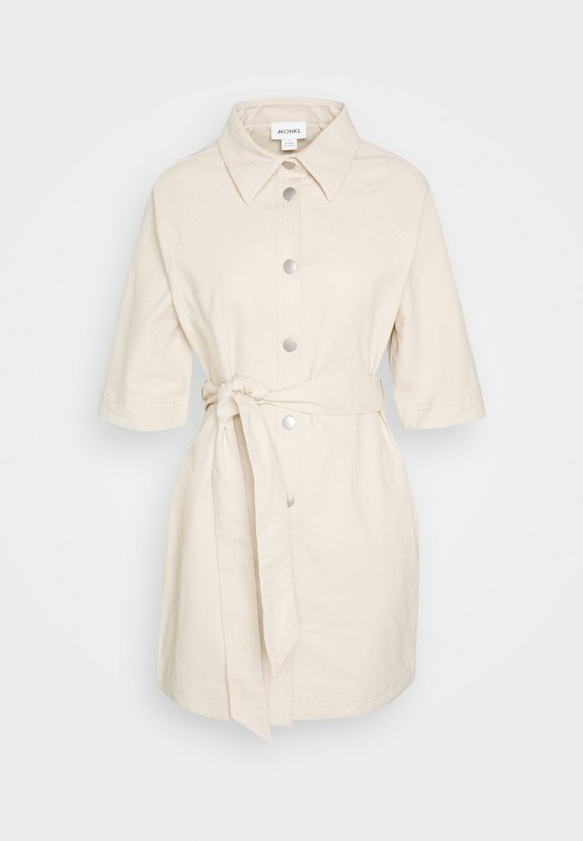 LISETTE DRESS - Korte jurk - beige medium dusty