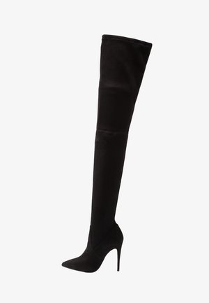 DOMINIQUE - High heeled boots - black