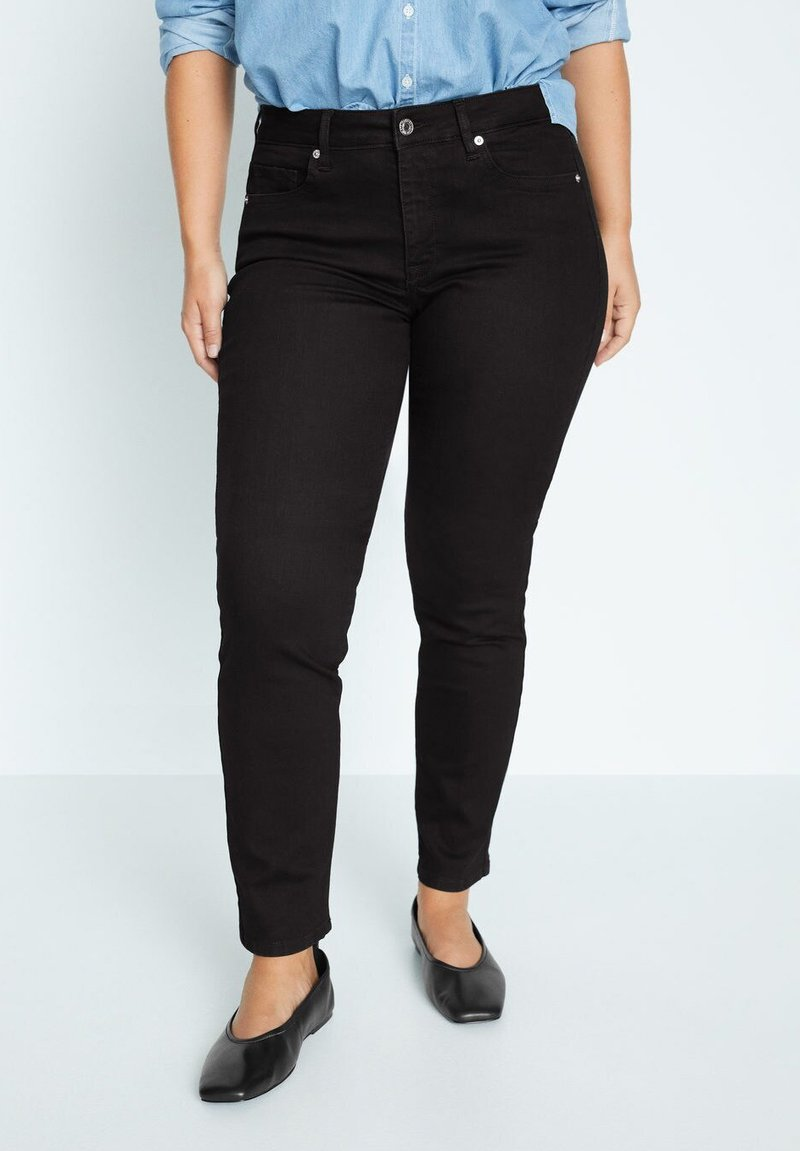 Violeta by Mango - SUSAN - Slim fit jeans - denim