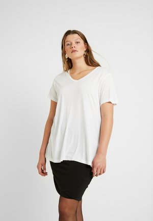 KCANELI - Basic T-shirt - optical white