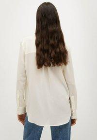 Mango - BIMA - Button-down blouse - ecru - 2