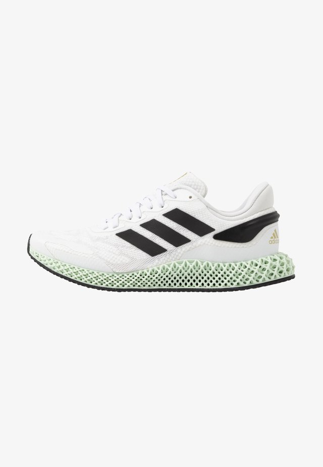 4D 1.0 - Neutral running shoes - footwear white/core black/gold