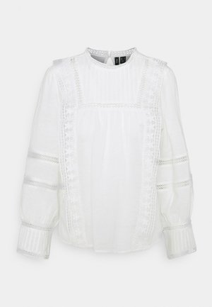 VMETTY - Long sleeved top - snow white