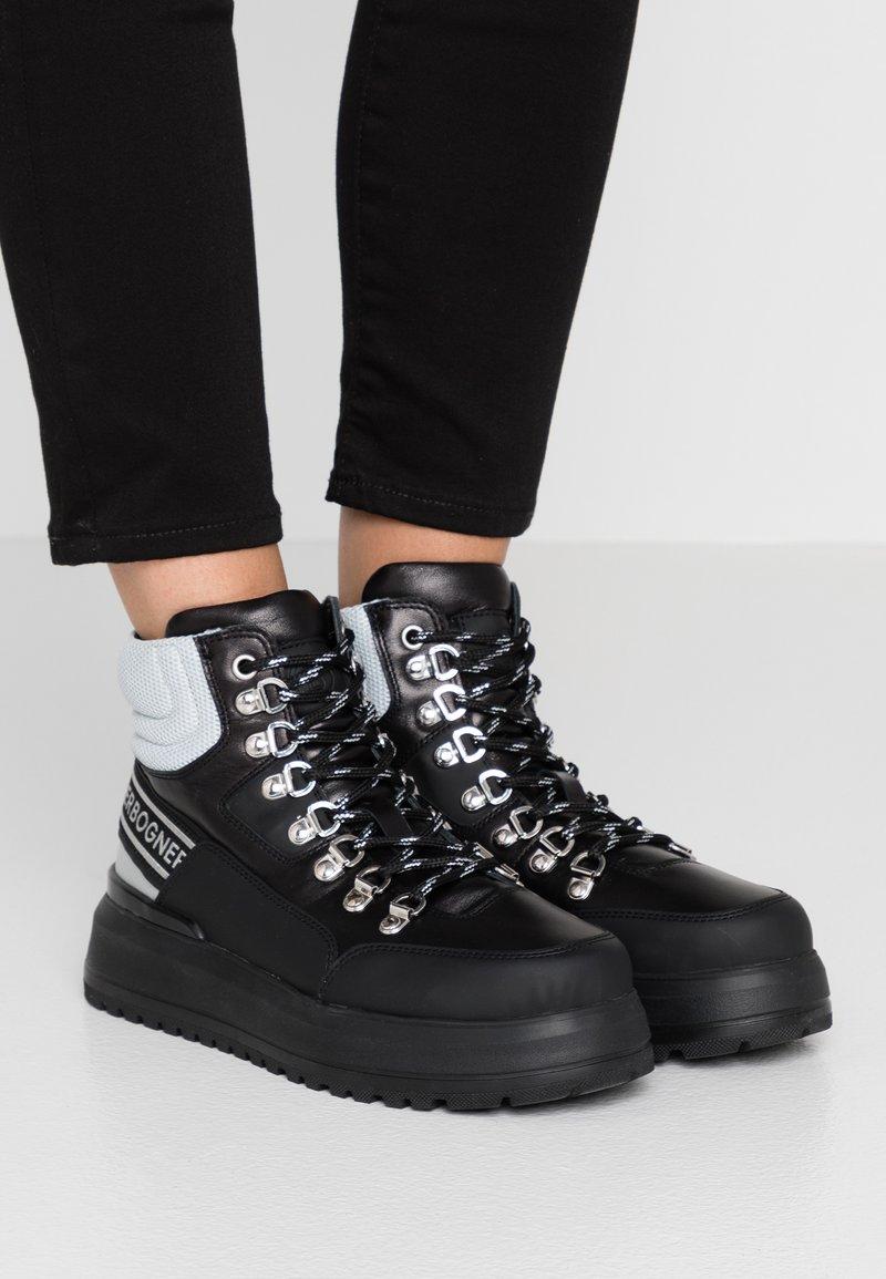 Bogner - ANTWERP - Boots à talons - black/silver