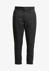 Selected Homme - SLHSPECIA ALEX MIX ZIP PANTS - Pantalones - grey - 4