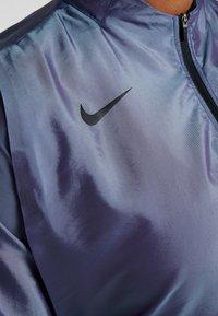 Nike Performance - AIR - Kurtka do biegania - voltage purple/light aqua/electric green/black - 9