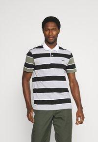 Lacoste - Polo shirt - argent/noir/blanc - 3