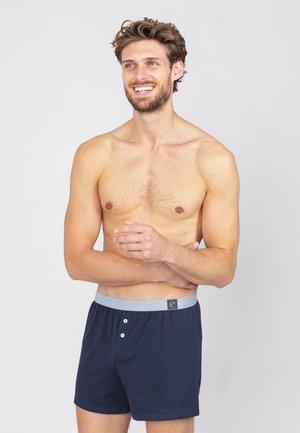 Boxershorts - mitternachtblau