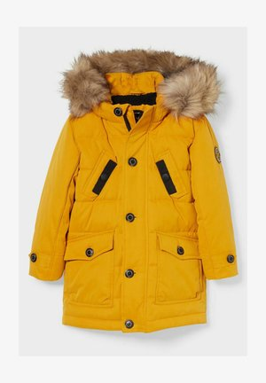 Down coat - yellow