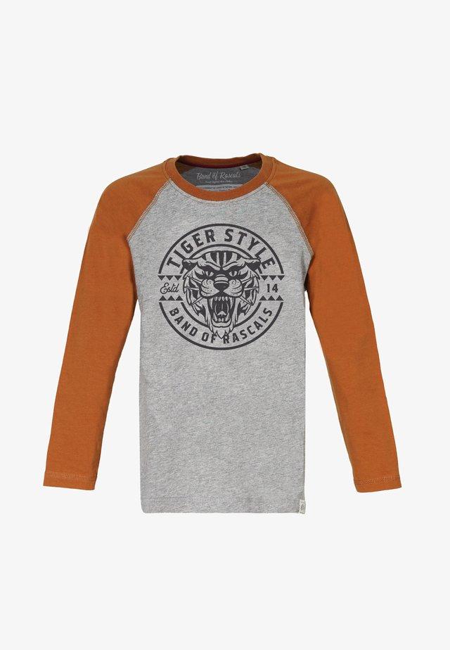 TIGER STYLE - Langærmede T-shirts - rust