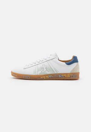 ANDY - Trainers - white/navy