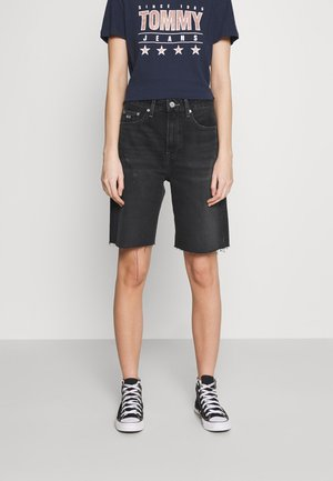 HARPER BERMUDA - Shorts di jeans - black denim
