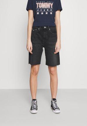 HARPER BERMUDA - Jeans Shorts - black denim