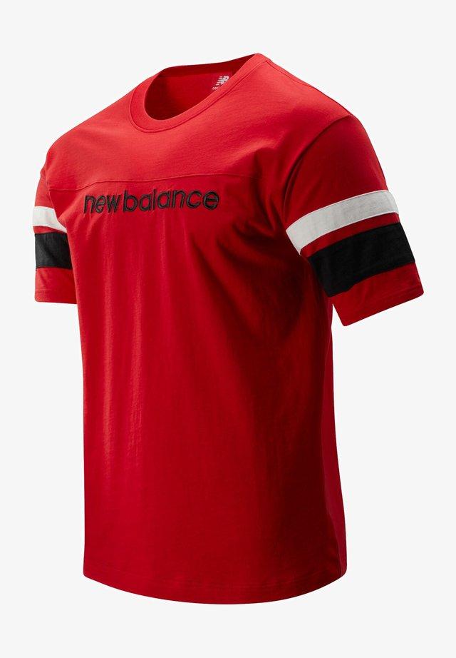 T-shirt med print - team red