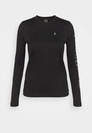 ALUM LIGHT LONG SLEEVE - Pitkähihainen paita - black