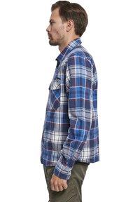 Brandit - HERREN CHECKSHIRT - Shirt - navy - 3
