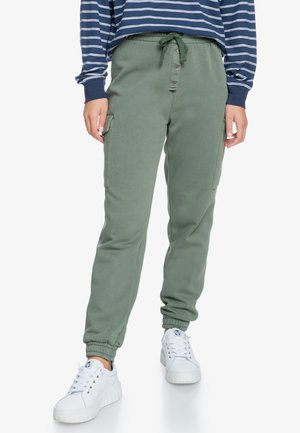 FLIGHT TIME - Cargo trousers - green
