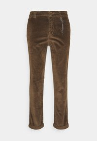 Jack & Jones - JJIACE JJCORDUROY EARTH - Spodnie materiałowe - dark earth - 0