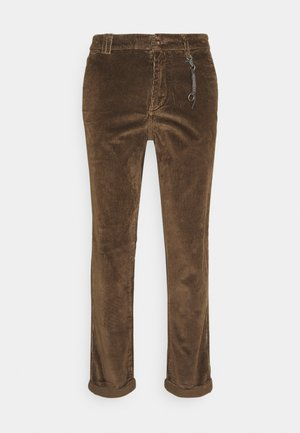 JJIACE JJCORDUROY EARTH - Pantaloni - dark earth