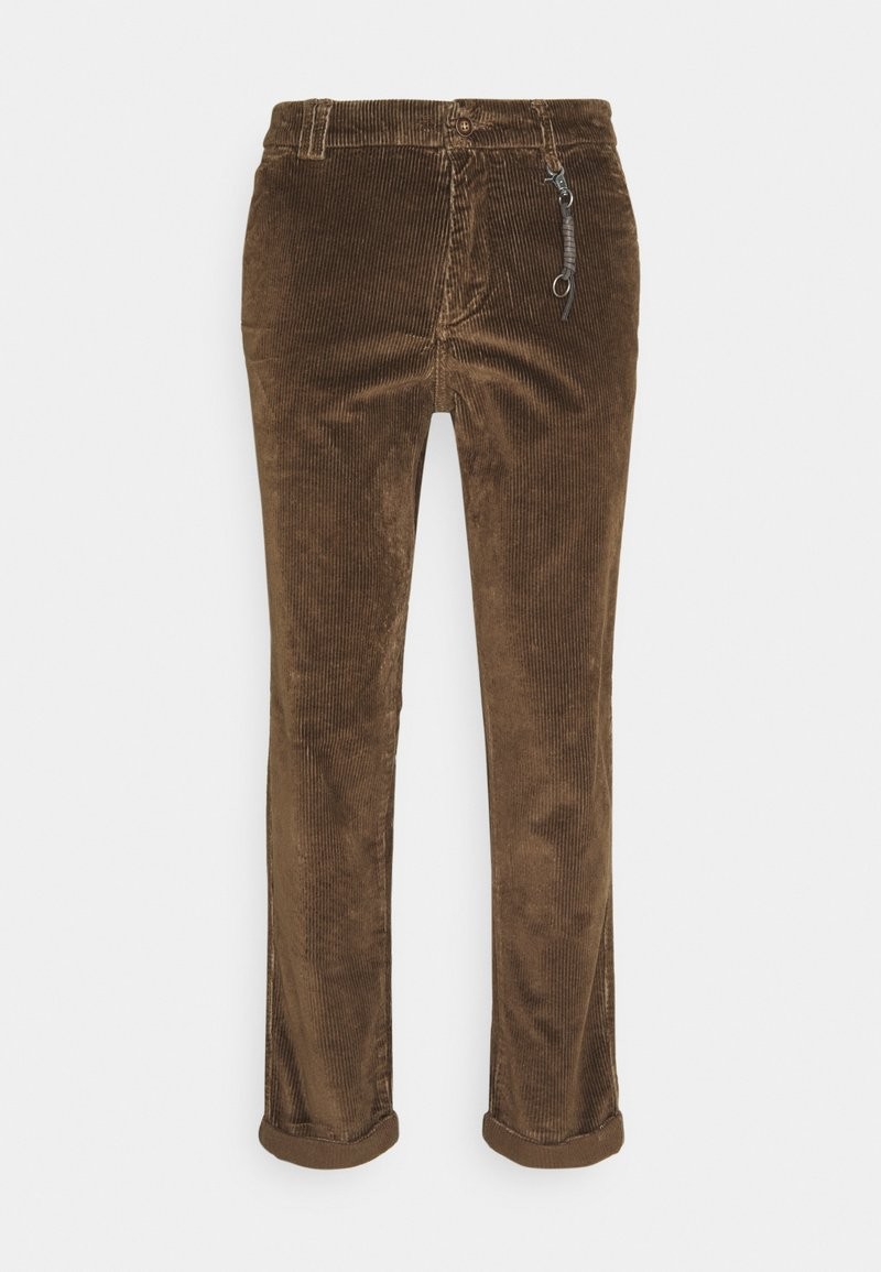 Jack & Jones - JJIACE JJCORDUROY EARTH - Spodnie materiałowe - dark earth