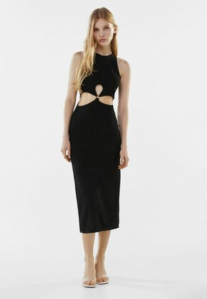MIT CUT-OUTS - Cocktail dress / Party dress - black