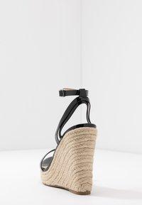 Even&Odd Wide Fit - Korolliset sandaalit - black - 3