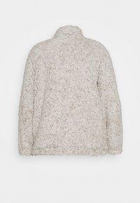 New Look Curves - ZIP - Fleece jumper - light grey - 1