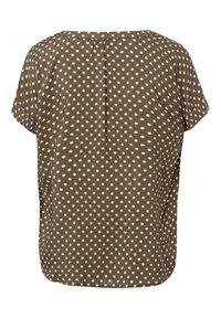 More & More - Print T-shirt - khaki - 3