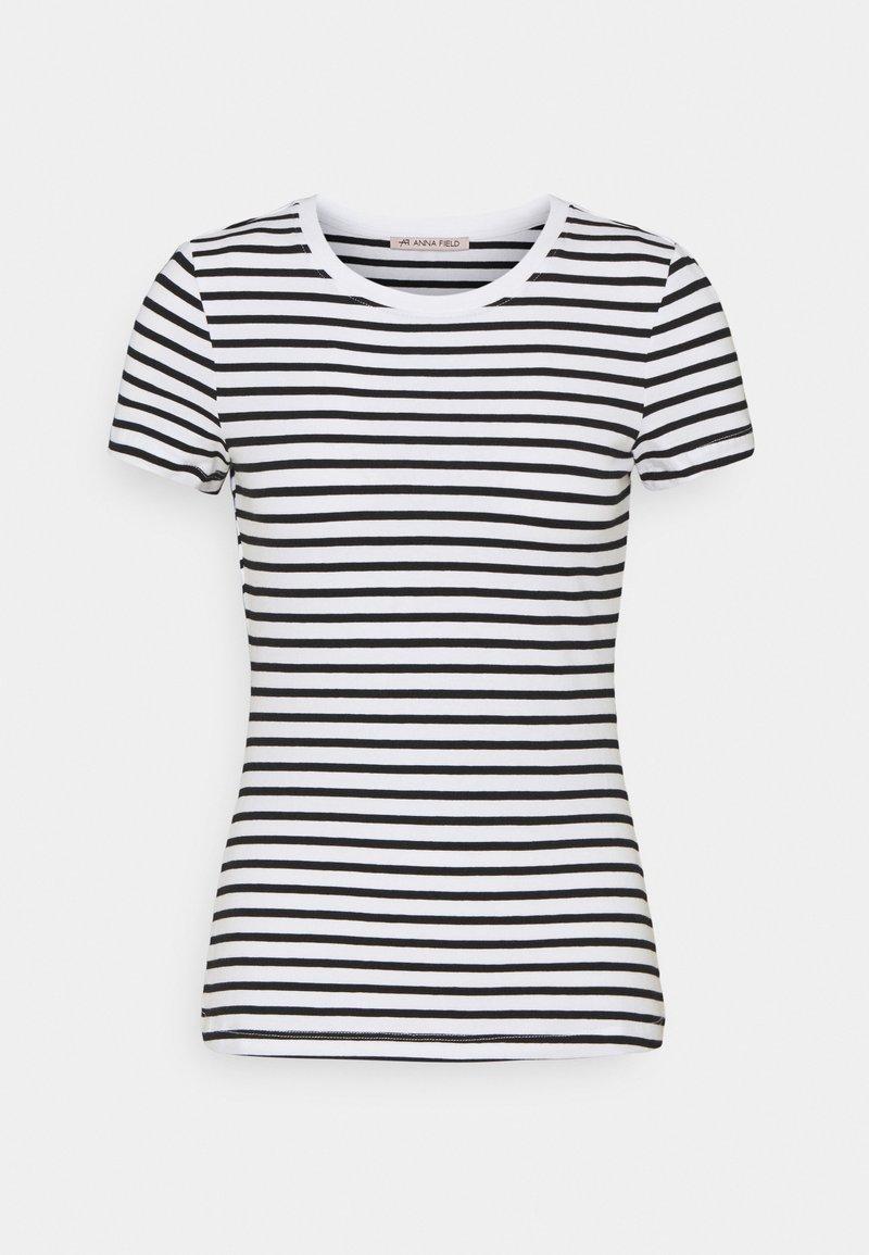 Anna Field - Print T-shirt - white/black