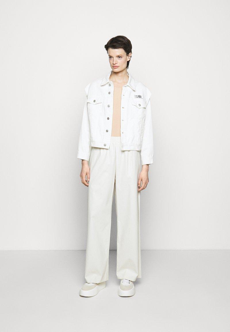 MM6 Maison Margiela - 3 PACK - Camiseta estampada - white/beige