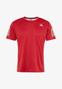 adidas Performance - OWN THE RUN TEE - Print T-shirt - red - 3