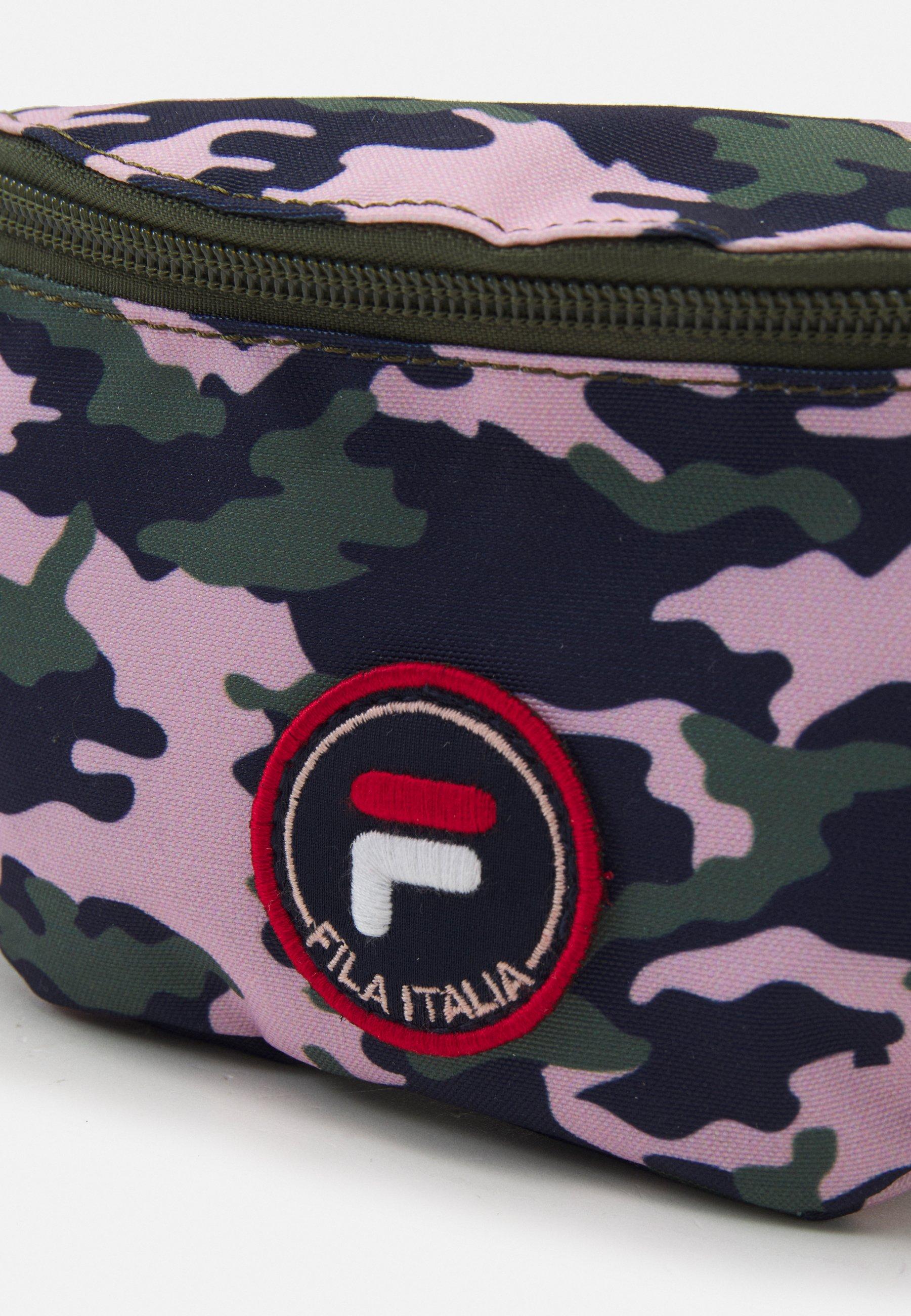 Kids PRINTED CAMO DOUBLE ZIPPER WAISTBAG UNISEX - Bum bag