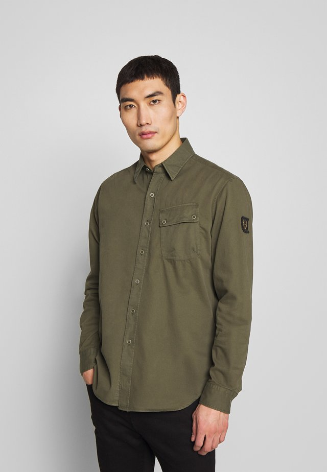 PITCH - Shirt - sage green