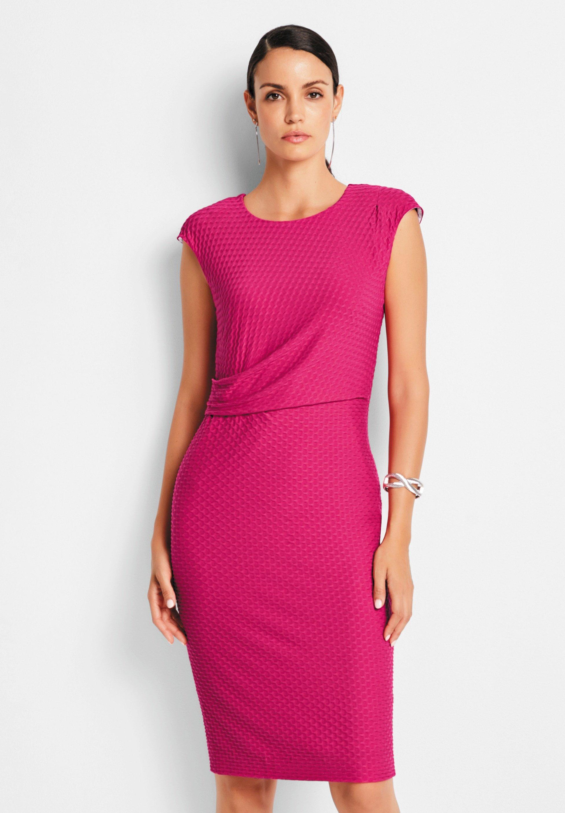 Madeleine Cocktailkleid Festliches Kleid Fuchsia Pink Zalando De